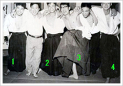 Uchideshi period at old hombu dojo (circa 1957)